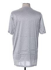 T-shirt manches courtes gris LANVIN pour homme seconde vue