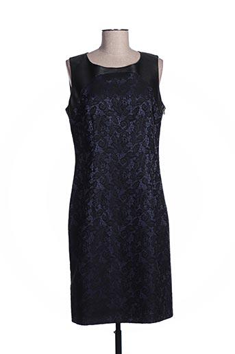 Robe mi-longue bleu COTTONADE pour femme