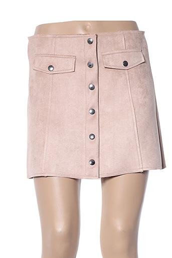 Mini-jupe beige ADILYNN pour femme