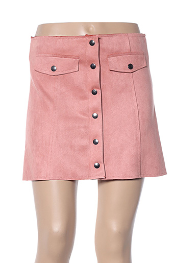 Mini-jupe rose ADILYNN pour femme