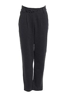 Pantalon casual gris ONLY pour fille