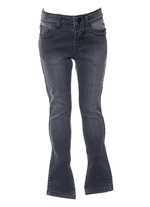 Jeans skinny gris SORRY 4 THE MESS pour fille
