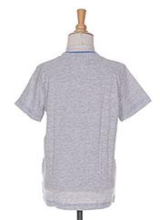 T-shirt manches courtes gris TOM TAILOR pour garçon seconde vue