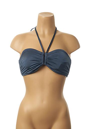 Haut de maillot de bain bleu SEAFOLLY pour femme