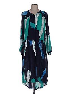 Robe longue bleu BAKKER pour femme