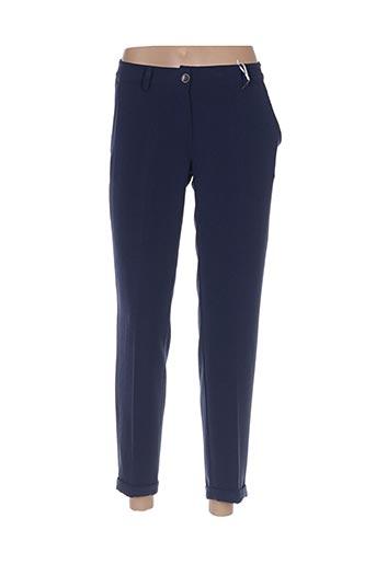 Pantalon chic bleu PAKO LITTO pour femme
