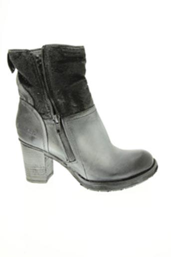 Bottines/Boots gris BUNKER pour femme