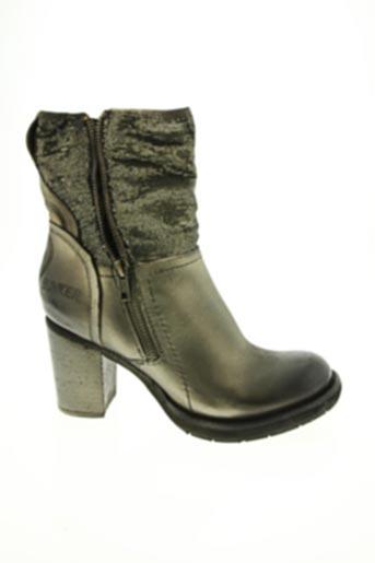 Bottines/Boots marron BUNKER pour femme