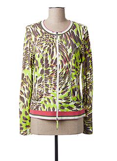 Veste casual vert AIRFIELD pour femme