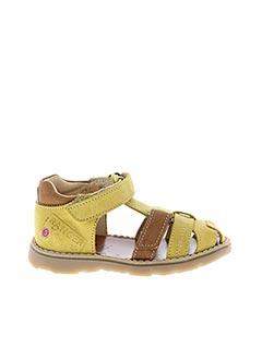 Sandales/Nu pieds jaune GBB pour garçon
