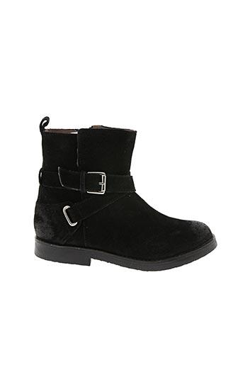 Bottines/Boots noir ASTER pour fille