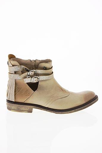 Bottines/Boots beige IKKS pour fille