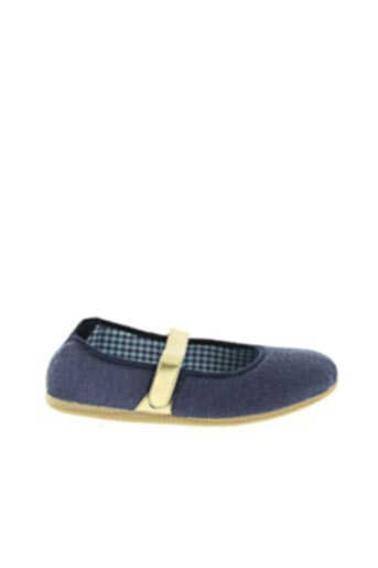 Chaussons/Pantoufles bleu PIFER pour femme