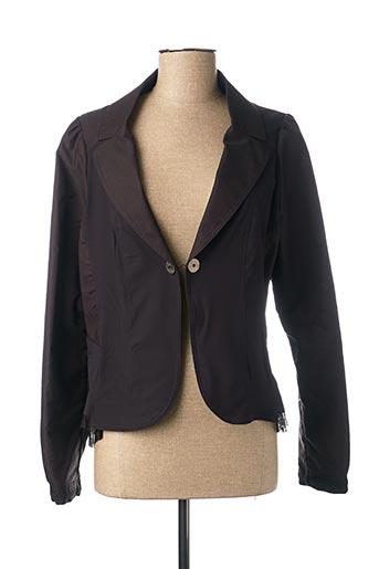 Veste chic / Blazer marron DECA pour femme