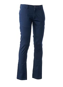 Pantalon casual bleu LINU BY CLP pour homme