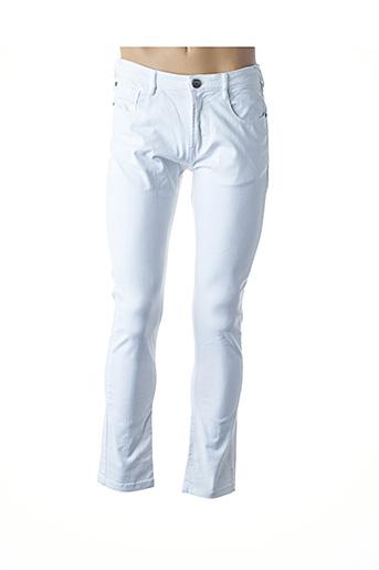 Pantalon casual blanc CLP pour homme