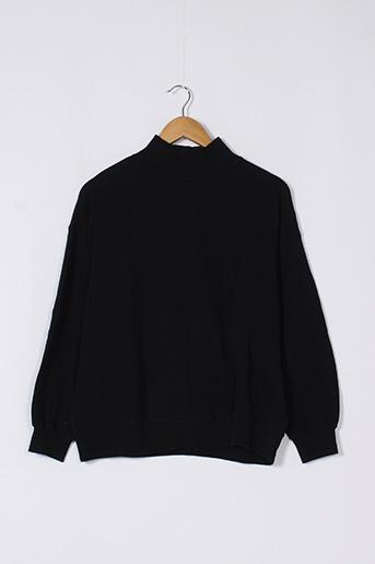 Sweat-shirt noir LEÏ-1984 pour femme