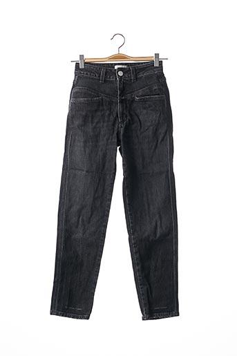 Jeans coupe slim noir CLOSED pour femme