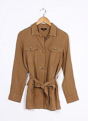 Veste casual marron MAISON 123 pour femme