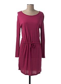 Robe mi-longue rose COQUELICOT pour femme