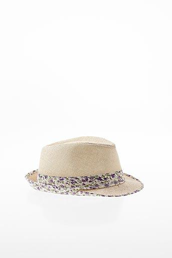 Chapeau violet FEDORA pour fille