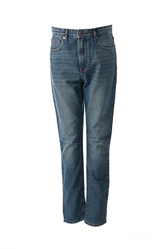 Jeans coupe slim bleu TOMMY HILFIGER pour garçon