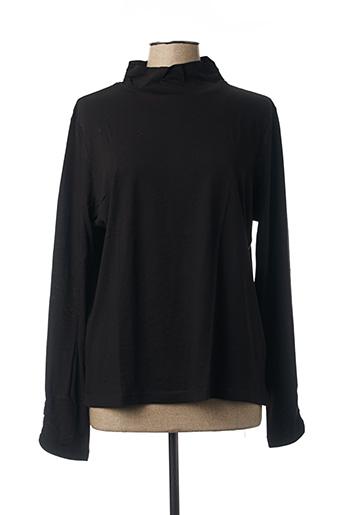 T-shirt manches longues noir DIANE LAURY pour femme