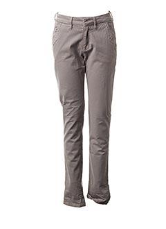 Pantalon casual gris REIKO pour femme