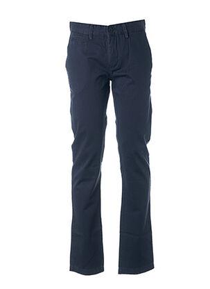 Pantalon casual bleu CROSSBY pour homme