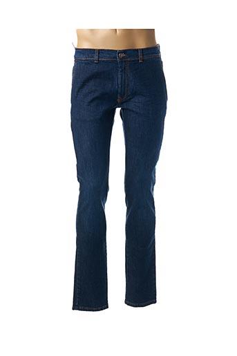 Jeans coupe slim bleu HARMONT & BLAINE pour homme