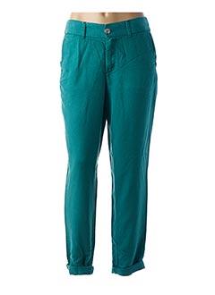 Pantalon casual vert LCDN pour femme