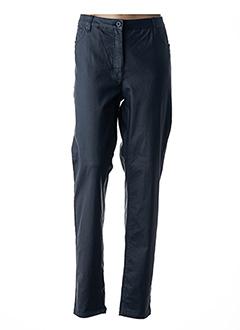 Pantalon chic bleu BRANDTEX pour femme