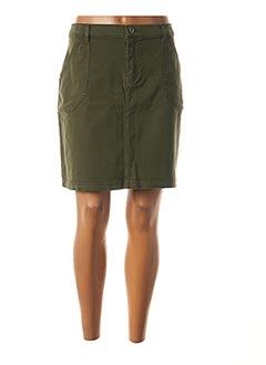 Jupe courte vert LOLA ESPELETA pour femme