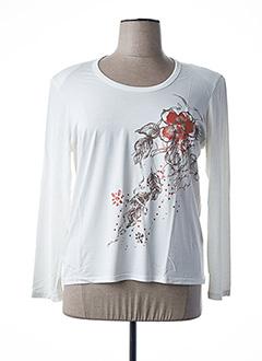 T-shirt manches longues beige GRIFFON pour femme