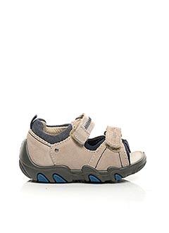 Sandales/Nu pieds beige SUPER FIT pour garçon