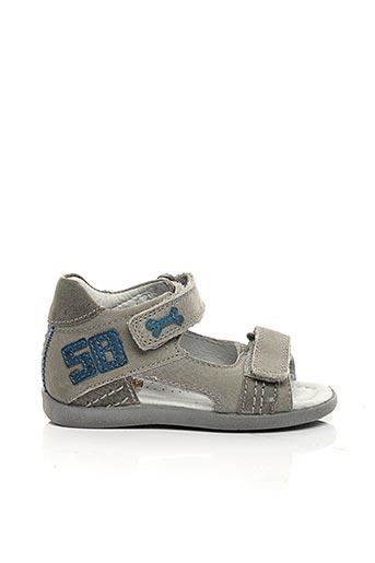 Sandales/Nu pieds gris STONES AND BONES pour garçon