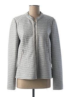 Veste casual gris GERRY WEBER pour femme