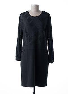 Robe mi-longue noir THALASSA pour femme