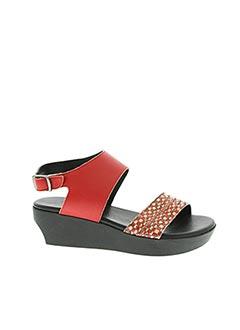 Sandales/Nu pieds rouge ARCHE pour femme