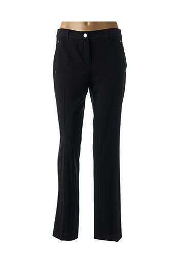 Pantalon chic noir JULIE GUERLANDE pour femme