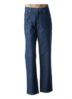 Jeans coupe droite bleu TRUSSARDI JEANS pour homme