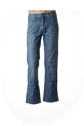 Jeans coupe droite bleu FLORENTINO pour homme