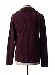 Pull col cheminée rouge FLORENTINO pour homme seconde vue