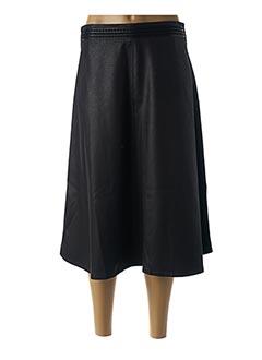 Jupe mi-longue noir LO! LES FILLES pour femme