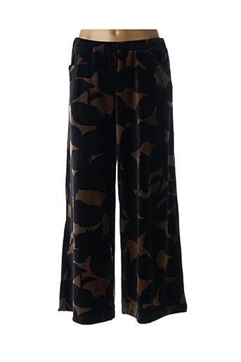 Pantalon 7/8 noir ALEMBIKA pour femme