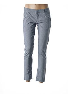 Pantalon casual bleu BO'AIME pour femme
