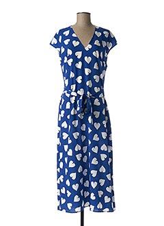 Robe longue bleu ESSENTIEL ANTWERP pour femme