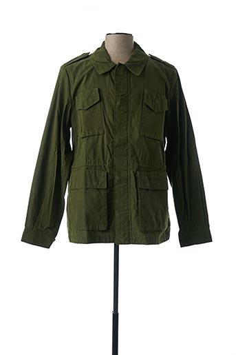 Veste casual vert ALESSANDRA CHAMONIX pour homme