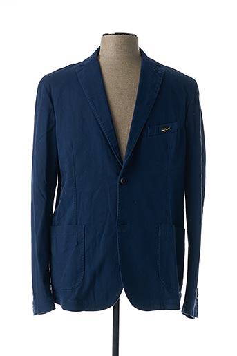 Veste chic / Blazer bleu AERONAUTICA pour homme