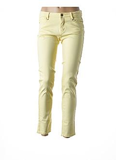 Pantalon casual jaune ESQUALO pour femme